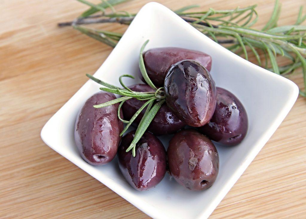 Gefärbte Oliven?