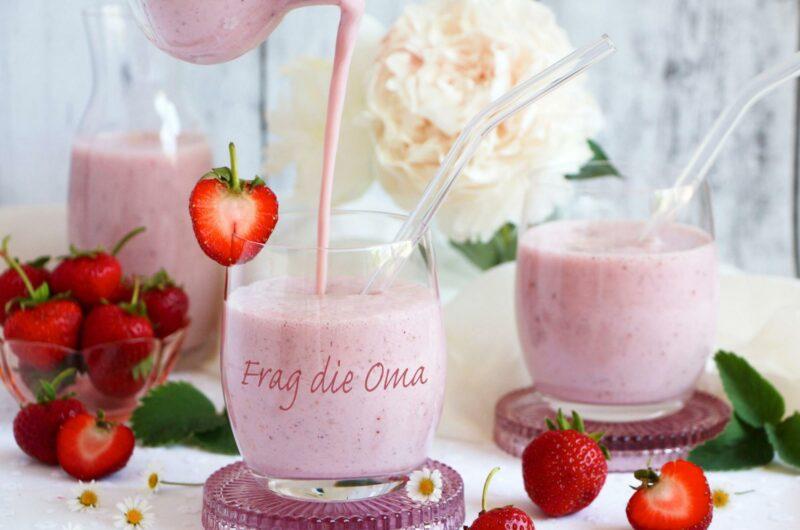 Erdbeerfrappe
