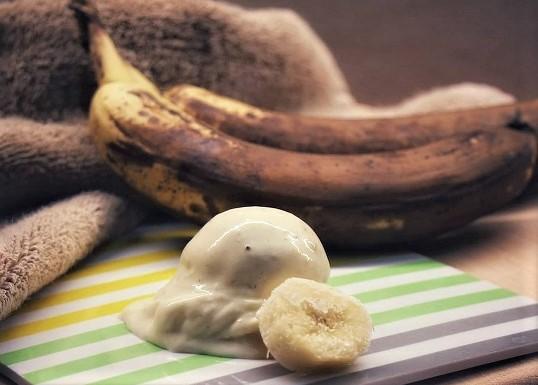 Bananeneis  <br><small><small>blitzschnell hergestellt</small></small>