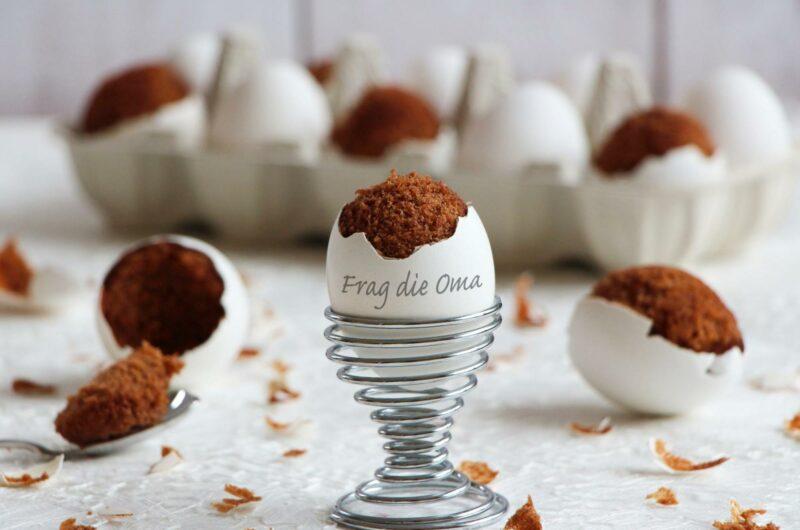 Schokokuchen im Ei