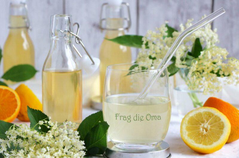 Holler-Orangen-Sirup