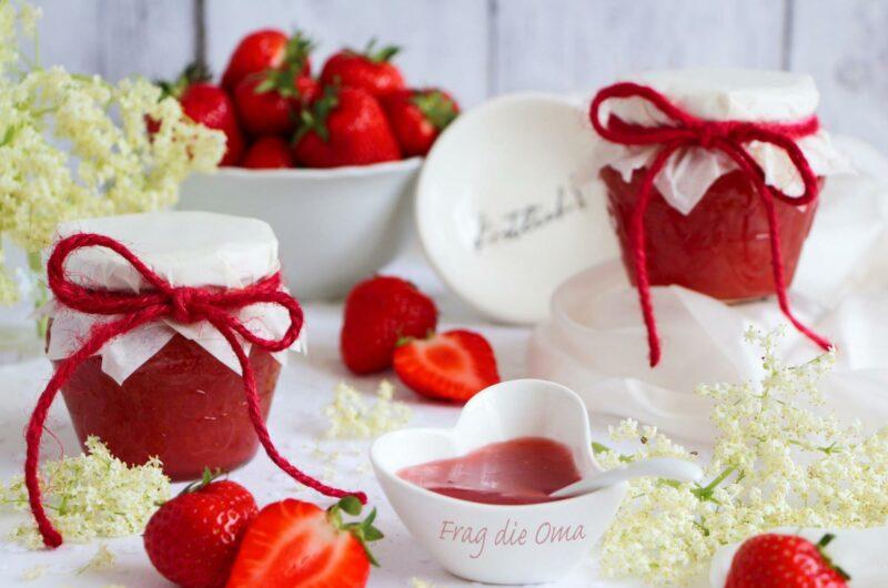 Erdbeer-Holler-Konfitüre