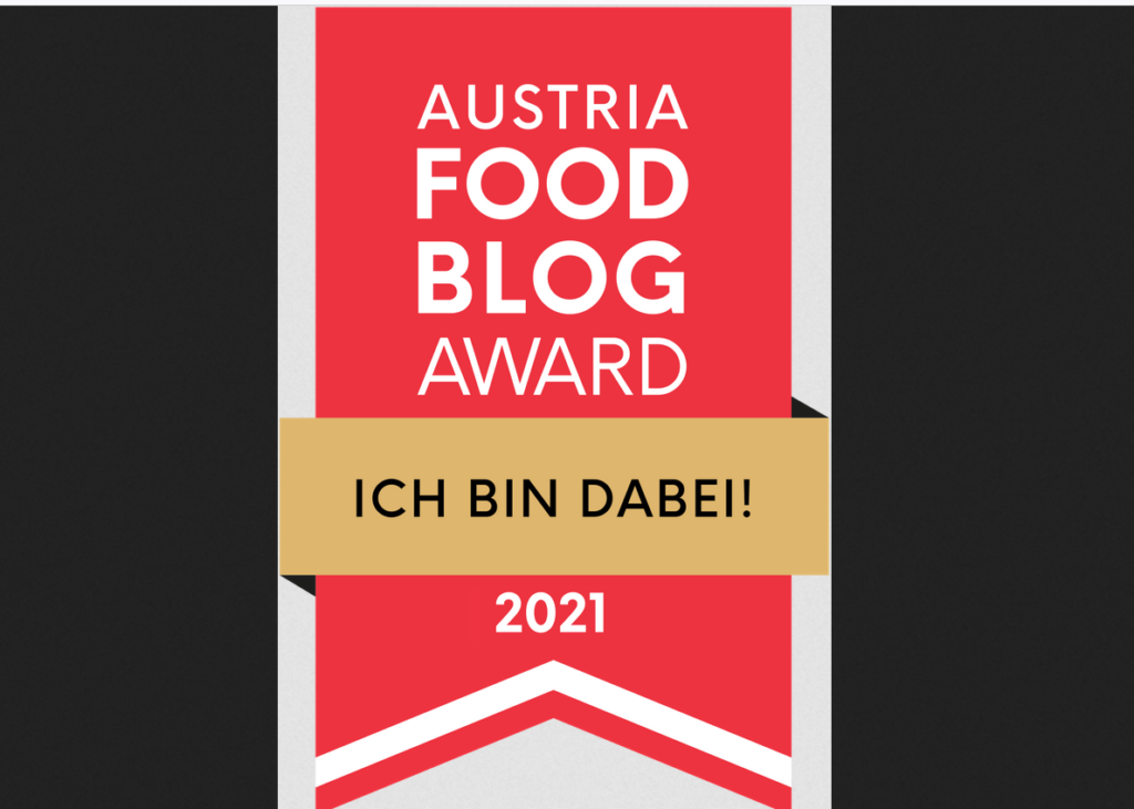 Read more about the article Food Blog Award 2021